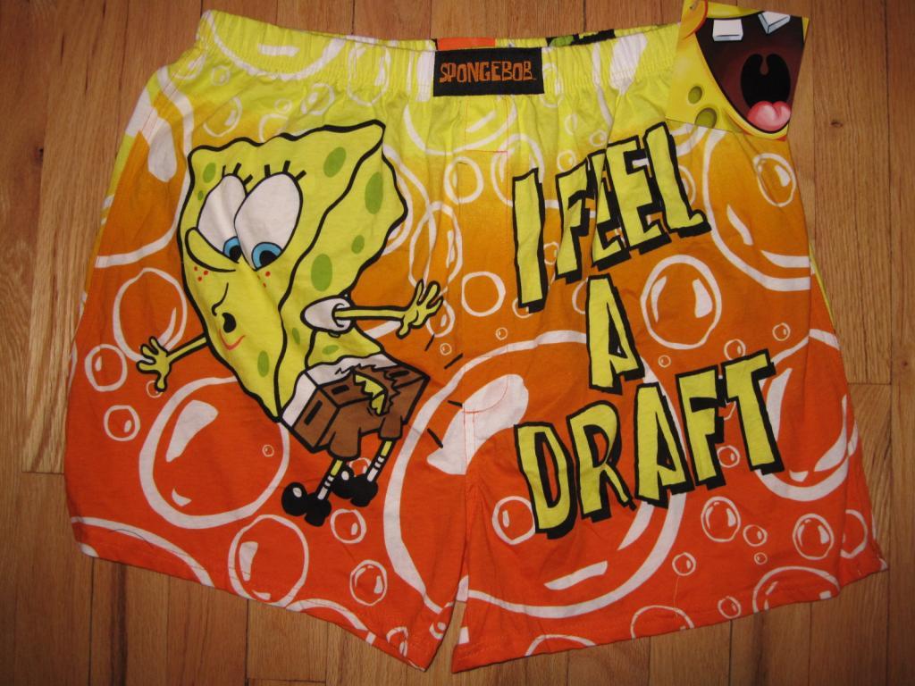 Bokserki SpongeBob (dla brata)