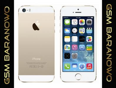 IPHONE 5S 32GB GOLD BS GW12 POZNAŃ - BARANOWO