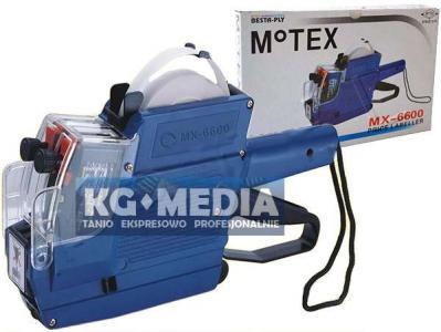 METKOWNICA DWURZĘDOWA MX-6600 MOTEX 23x16 AG60 FV