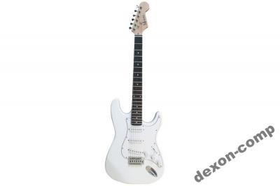 Gitara elektryczna  biała