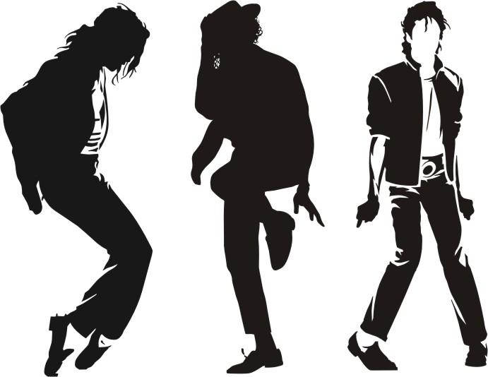 Naklejki ścienne Michael Jackson