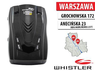 ANTYRADAR WHISTLER GT-265Xi EURO X2 - WARSZAWA