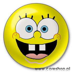 Przypinka ze SpongeBobem
