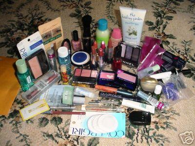 Mnóstwo kosmetyków :D
