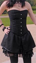 Skirt Overbust Corset