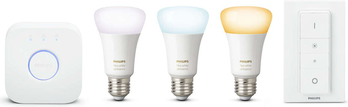 Philips Zestaw startowy Hue White ambiance