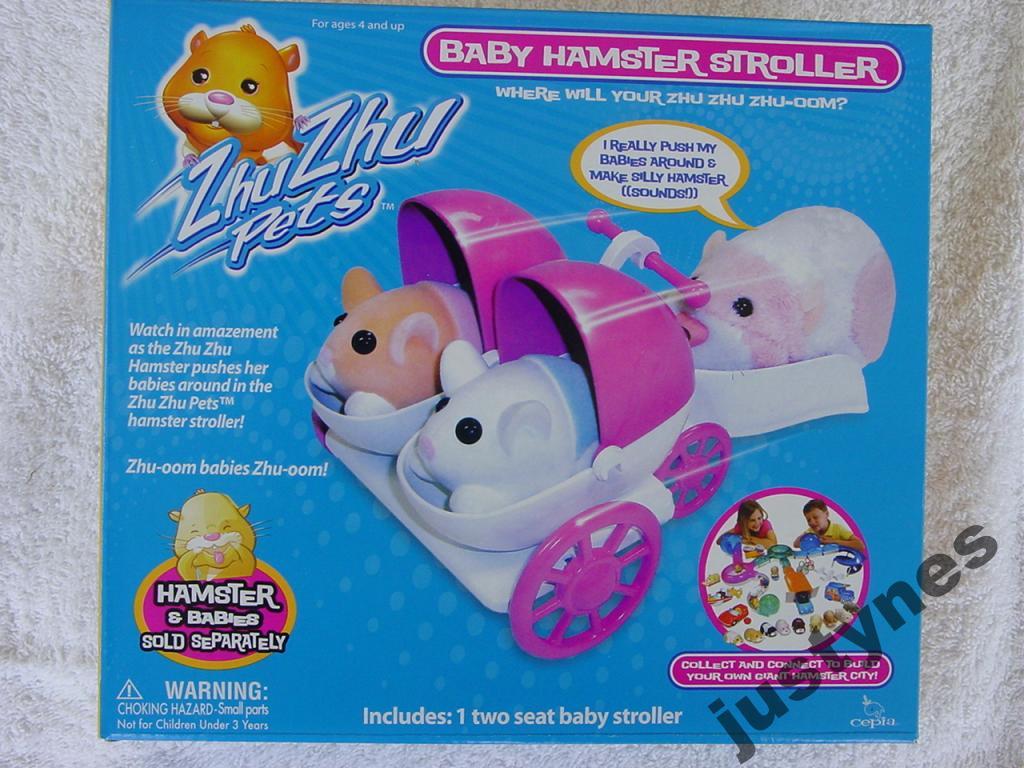 wózek dla zhu zhu pets baby chomiczek