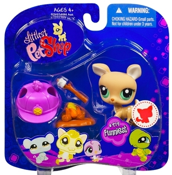 LITTLEST PET SHOP - BEŻOWY JELONEK