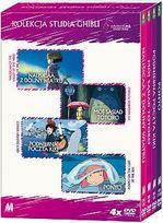 STUDIO GHIBLI - ANIME (KOLEKCJA 2) 4 DVD BOX
