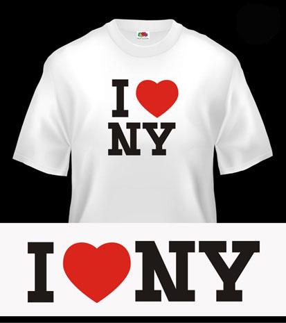 I Love NY ! Koszulka