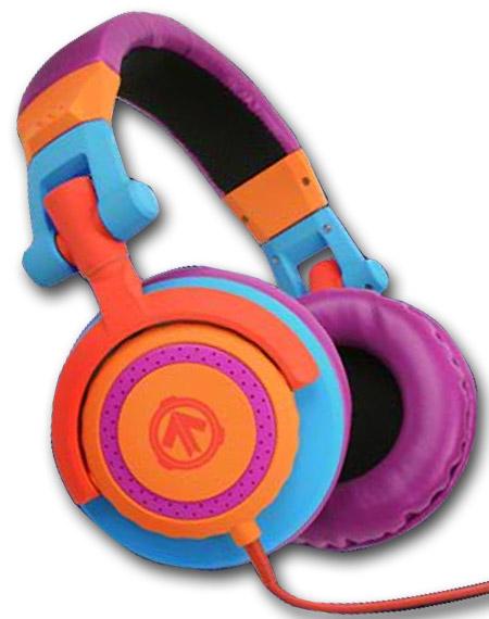 kolorowe słuchawki