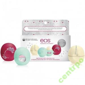 EOS - balsam do ust - Edycja limitowana - 3 x 7g