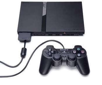 Playstation 2 + dwa joystick'i