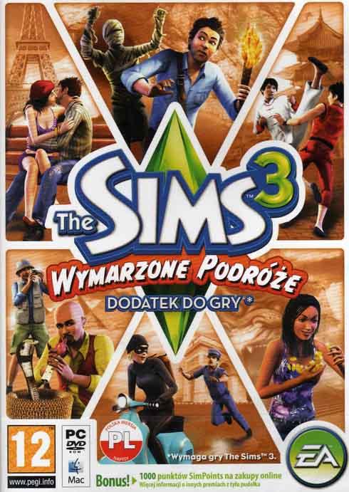 The Sims 3 Wymarzone Podróże- dodatek