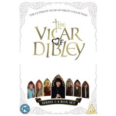 The Ultimate Vicar Of Dibley Collection - Series 1-4 - Complete