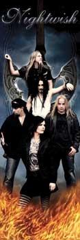 Plakat na drzwi - Nightwish