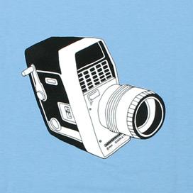 8mm Camera T-Shirt