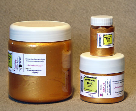 SINUS produc. FARBY METALICZNE PATRYK 0,5 kg