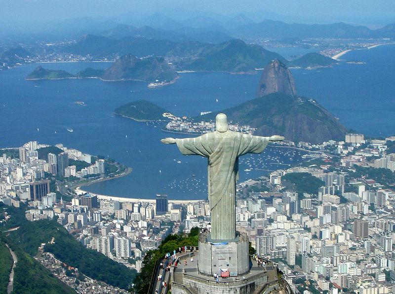 Pobyt w Rio de Janeiro & zobaczenie z bliska Pomniku Chrystusa Zbawiciela