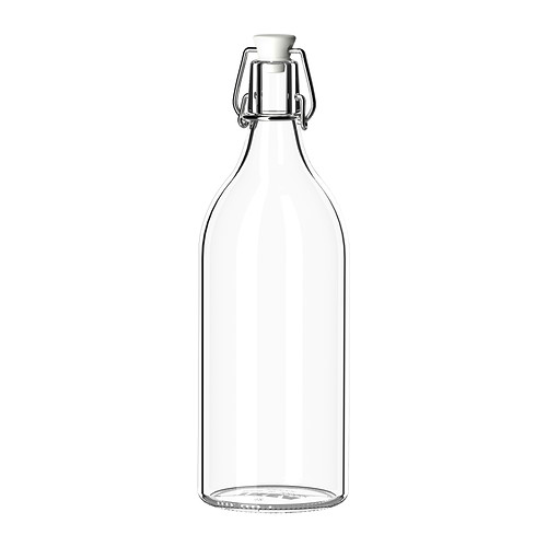 butelka z kapslem