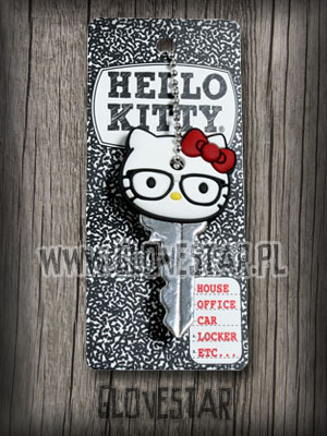 Nakładka na klucze HELLO KITTY nerd