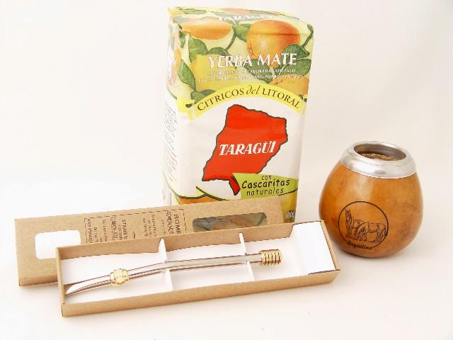 Zestaw Taragui Citrus Mate