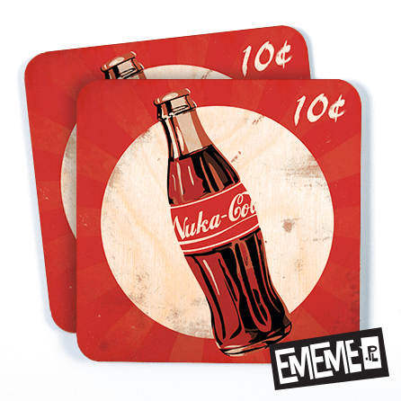 Podkładki Nuka Cola