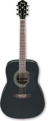 czarna akustyczna gitara