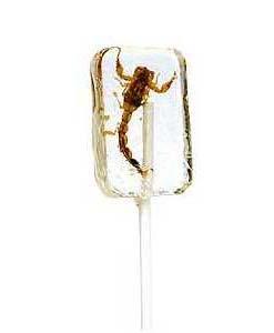 Lizak ze skorpionem