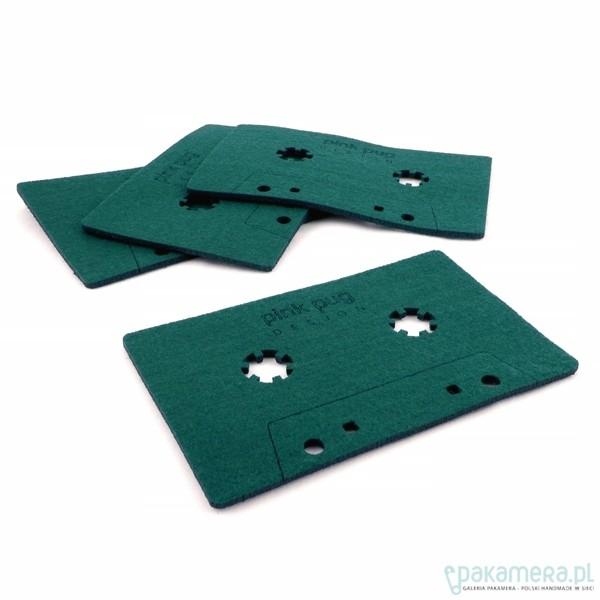 kasety -podkładki pod kubek