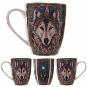 Kubek z wilkiem