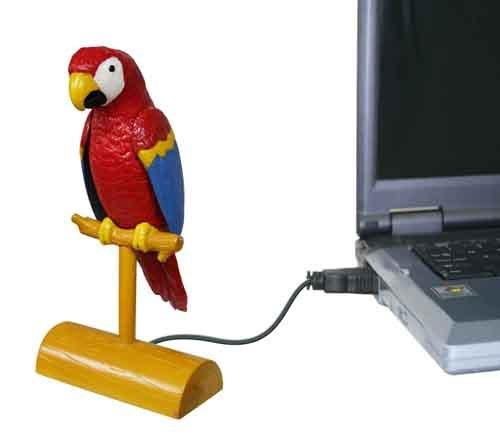 Papuga USB