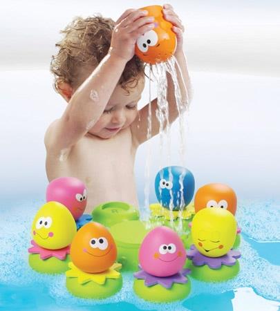 Ośmiorniczki do kąpieli Tomy