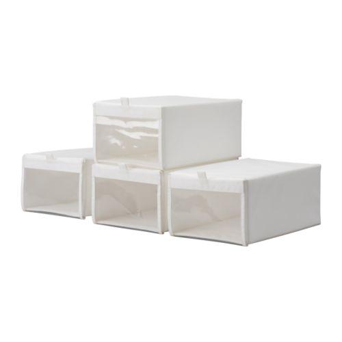 Pudełka do przechowywania butów z Ikea