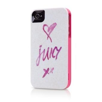 Herbowa obudowa Juicy Couture dla telefonu iPhone 4