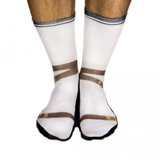Skarpety Sandały