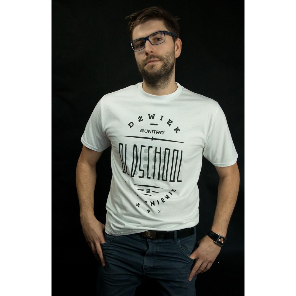UNITRA Oldschool Koszulka rozmiar XL biała