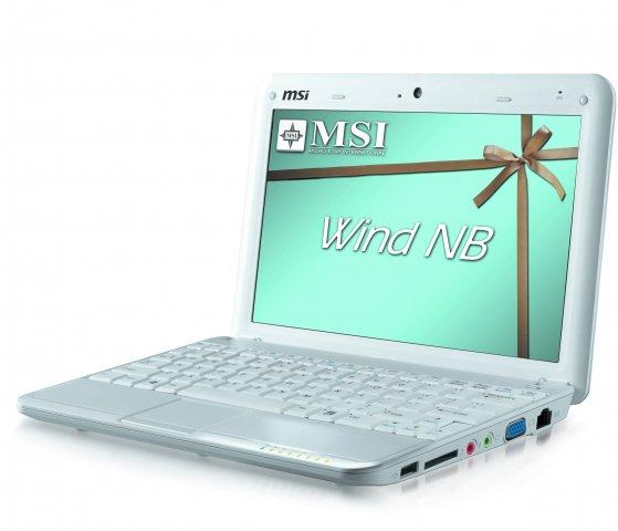 Microstar WIND U100 biały XPH 160GB 6-cell