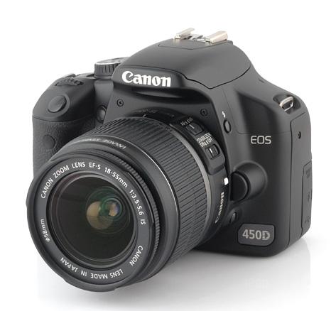 aparat canon eos 450D