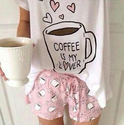 PIŻAMA COFFEE IS MY LOVER