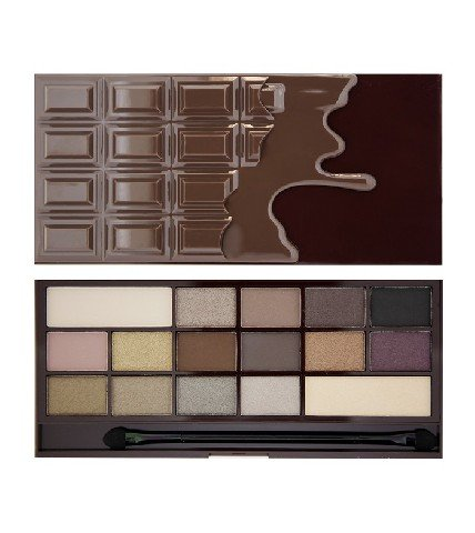 Makeup Revolution, I Love Make Up Palette, paleta cieni do powiek Death by Chocolate