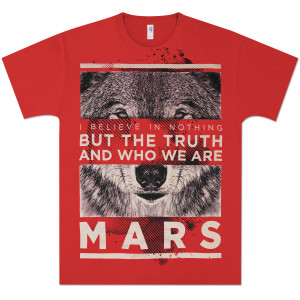 T-shirt Red Wolf