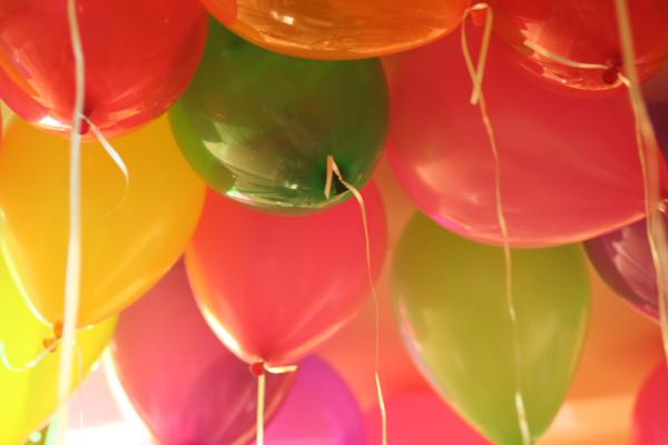 Balon z helem !
