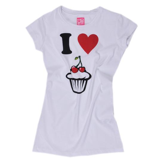 T-shirt   I Love Cake