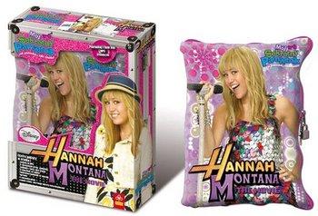 Pamiętniko-poduszka Hannah Montana