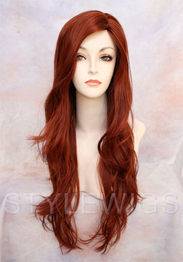 Marvel X-Men Jean Grey Red Costume Cosplay Wig Wigs