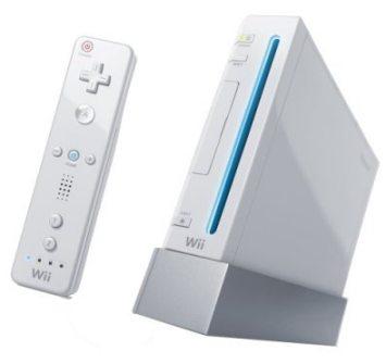 Konsola Nintendo Wii.