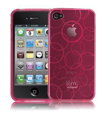 Różowy iPhone 4.