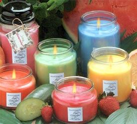 Pachnące świeczki