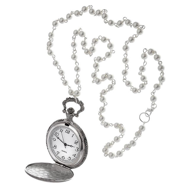 naszyjnik - zegarek